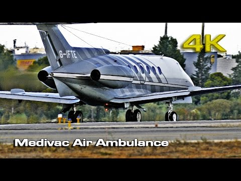 Medivac Air Ambulance  Hawker 125