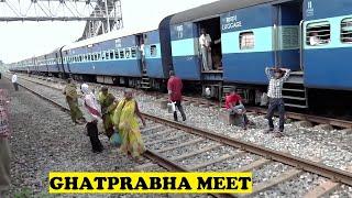 WDM3A Belgaum Miraj Passenger Ghatprabha
