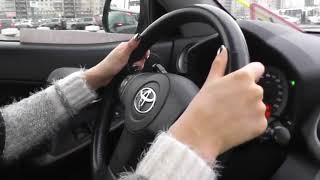 Повороты на перекрестках с инструктором по вождению.