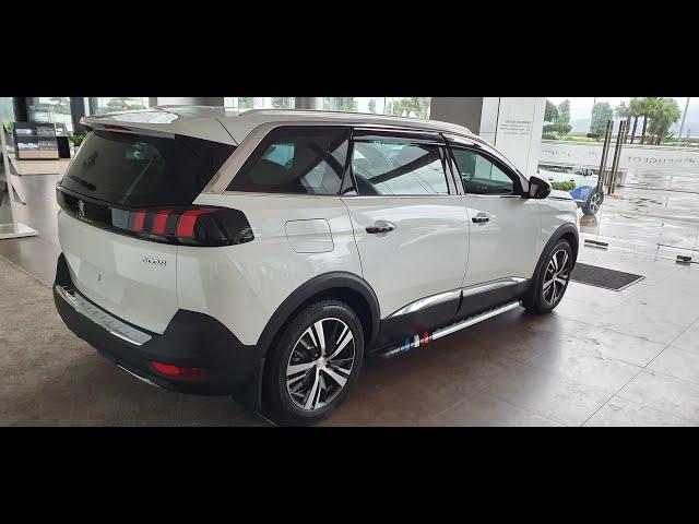 Phụ kiện Peugeot | Trang bị full đồ cho xe Peugeot 5008 màu trắng