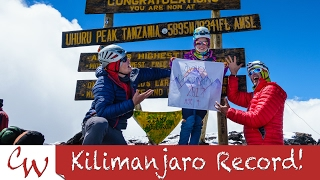 Avery 9 Yrs Old ~ Youngest girl to summit Kilimanjaro. Machame via Western Breach