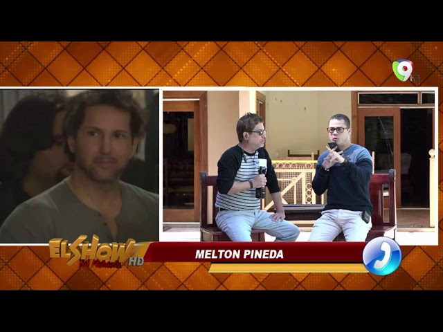 Periodista Melton Pineda: Figueroa Agosto tiene 3 semanas aquí en República Dominicana
