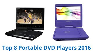8 Best Portable DVD Players 2016