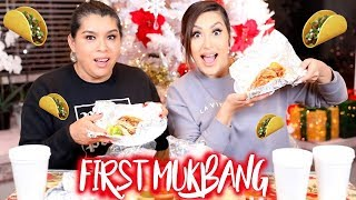 Download FIRST MUKBANG FT MY MOM | BEAUTYYBIRD, Mp3 and Videos