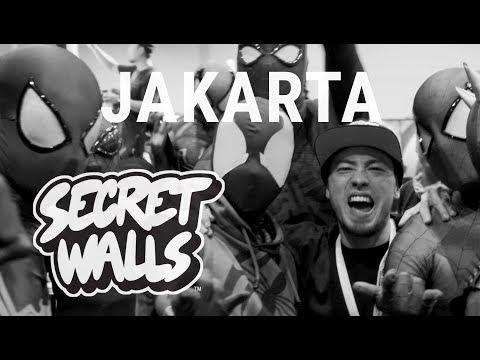 Paint Will Spill Tour - Ep.05 Jakarta // SECRET WALLS
