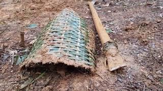 primitive technology: How to make a stone shove