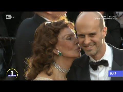 Auguri Sofia Loren - Unomattina 20/09/2017