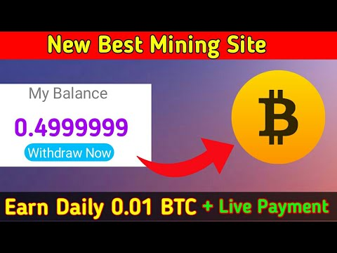 New Bitcoin Mining Site 2020 | BTC Mining Site | New Cloud BTC Mining Site | Live withdrawal
