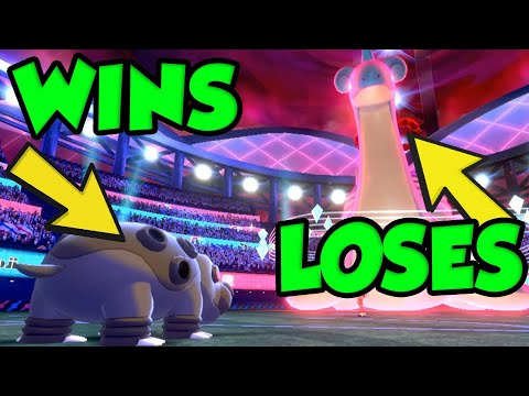 HIPPOWDON STILL A GOD In Pokemon Sword and Shield Ranked Battles!