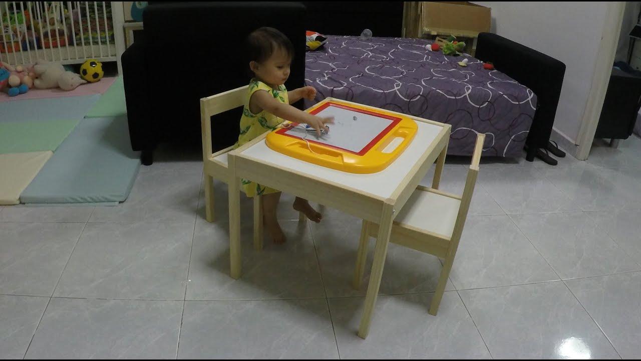 Ikea Latt Children S Table And Chair