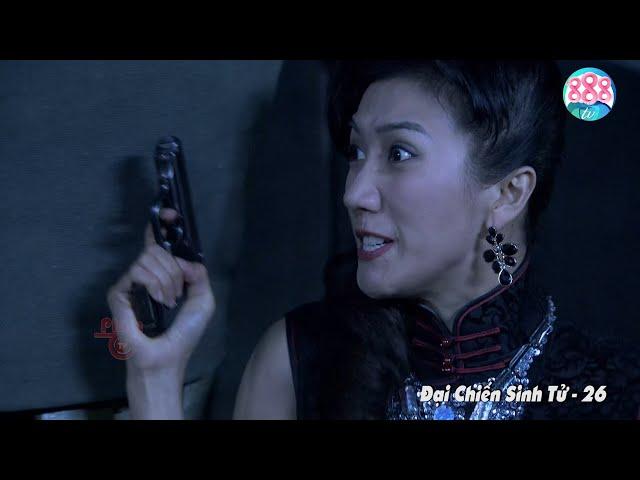 Nữ Sát Thủ Lợi Hại Như Thế Nào Cũng Phải Chào Thua Với 3 Tên Đặc Vụ Này   Đại Chiến Sinh Tử   888TV