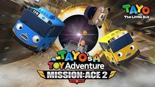 Tayo: Misi Penyelamatan Ace 2 l Petualangan Mainan Tayo l Versi lengkap l Tayo Bus Kecil