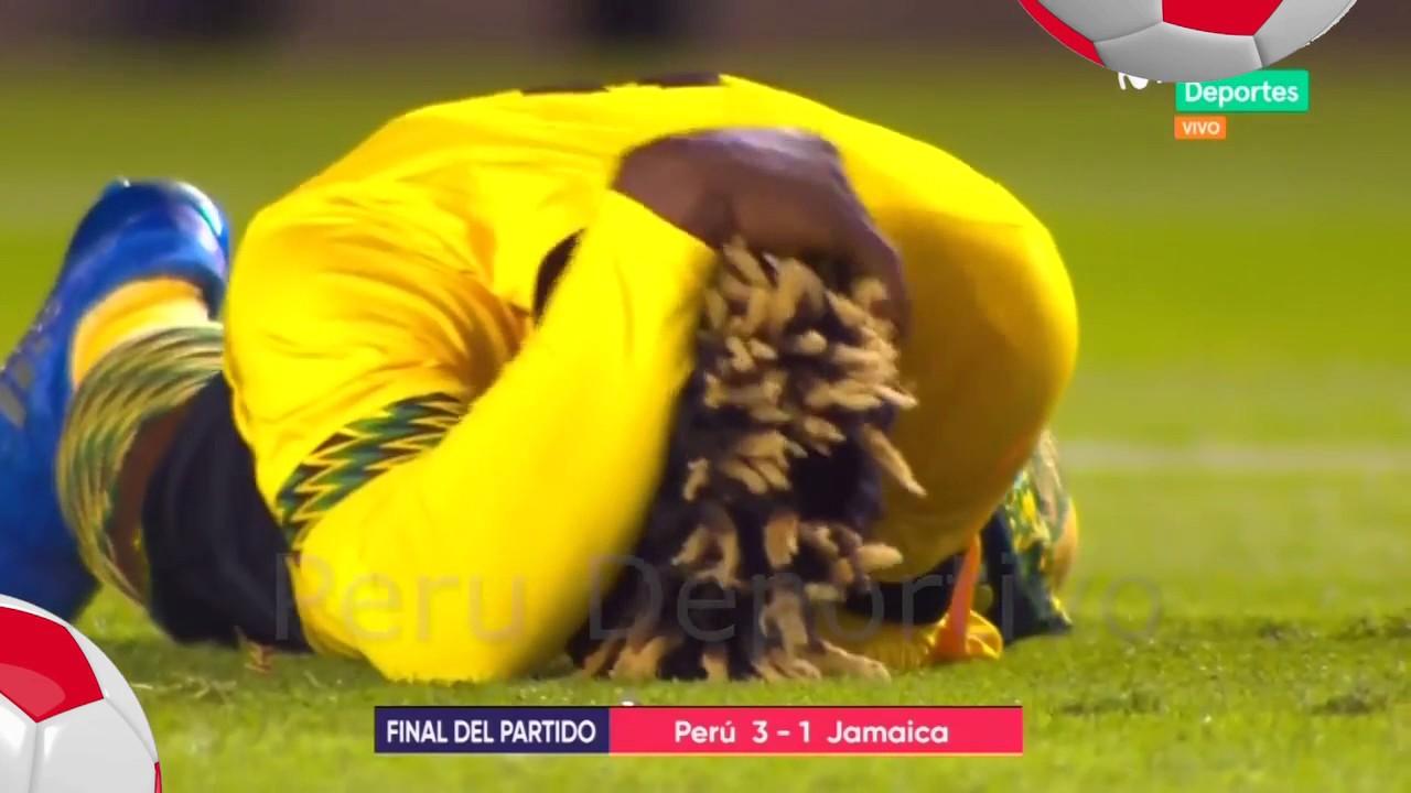 Перу - Ямайка 3:1 видео