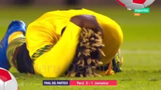 Peru vs Jamaica 3 a 1 FULL HD GOLEADA orgullo peruano