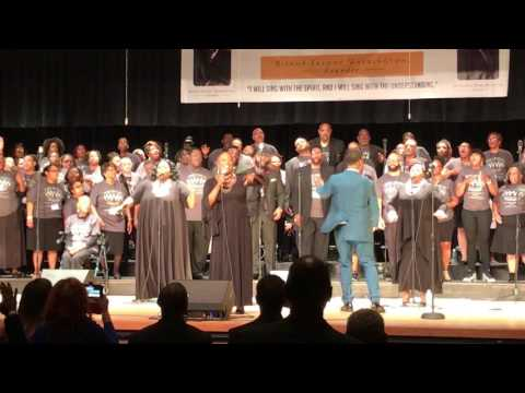 DONALD LAWRENCE and co (LIVE in PENNSGROVE NJ) song:BLESS ME