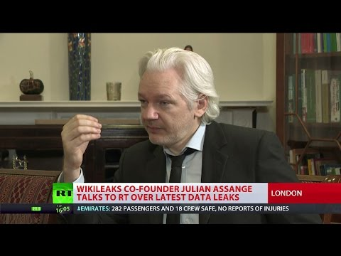 Julian Assange talks to RT EXCLUSIVE