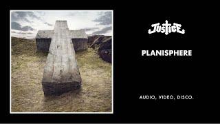 Justice - Planisphère