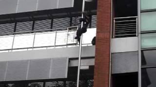 Firemen Sliding Down the Pole - American Style
