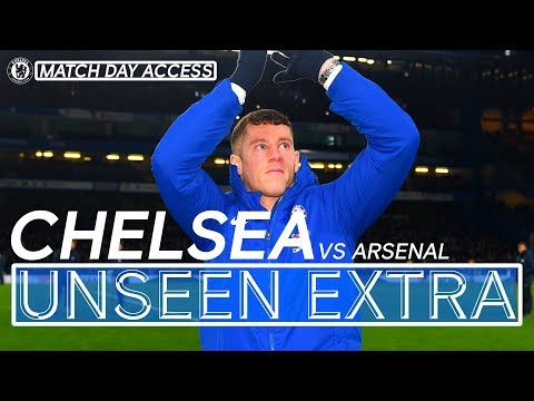 Barkley Meets The Fans & Joe Cole Returns | Chelsea Vs Arsenal Tunnel Access | Unseen Extra