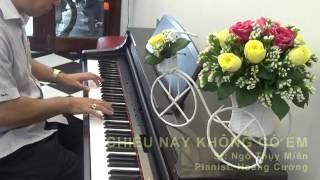 Chiều nay không có em -- Hoàng Cường Pianist