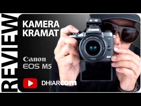 CANON EOS M5 INDONESIA, Kamera Vlog Terkini & Terkiller!