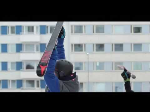 Best and most creative urban skiing ever!
