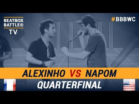 Alexinho vs NaPoM - Quarterfinal - 5th Beatbox Battle World Championship