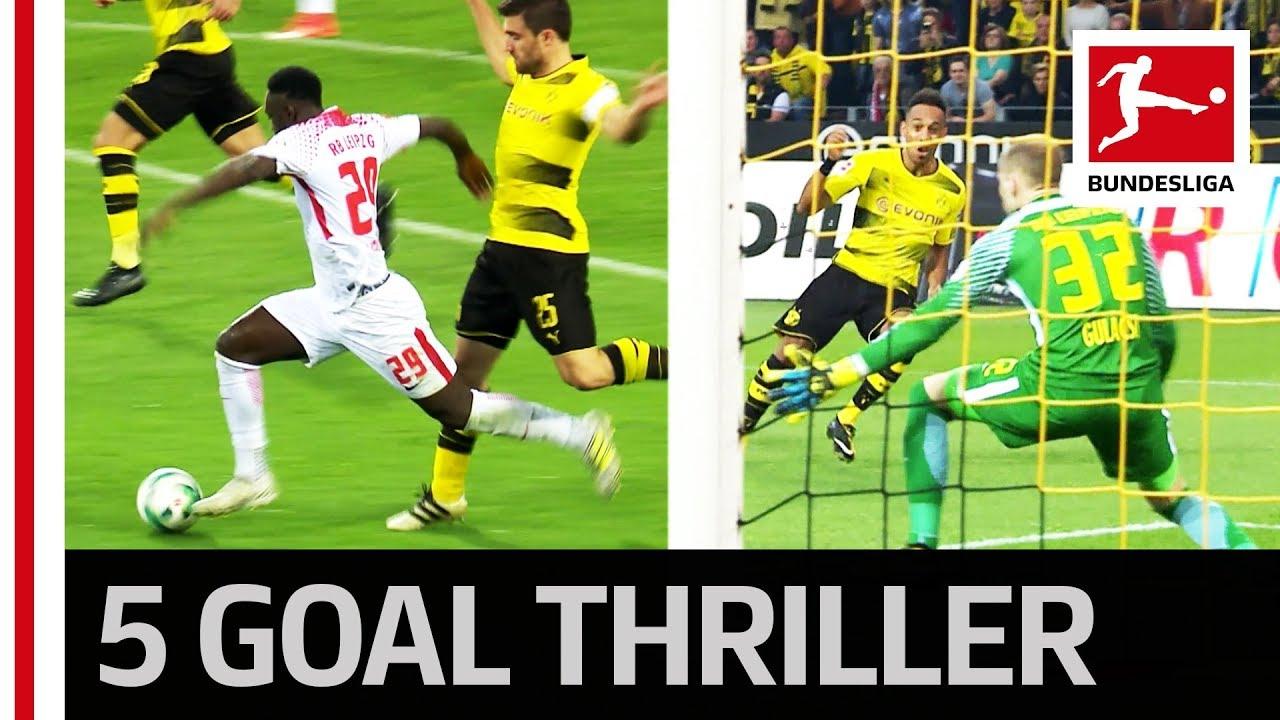 Download Auba Brace Not Enough - Leipzig End Dortmund's Unbeaten Home Run - Highlights
