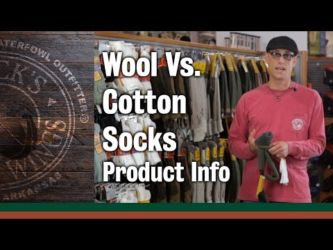 Wool Vs  Cotton Socks