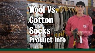 Wool Vs  Cotton Socks