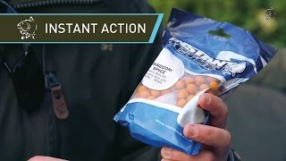 Carp Fishing Bait INSTANT ACTION range on test - Nash 2014 Carp Fishing DVD Movie