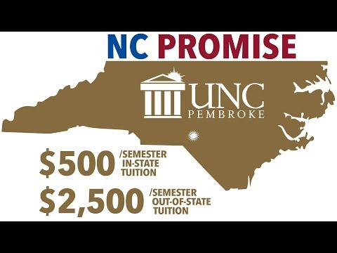 North Carolina Promise: Making a quality education affordable.