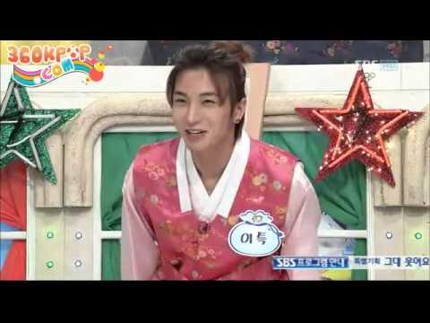 [Vietsub] LeeTeuk cut - 100213 SBS Lunar New Year Special Star Junior Show