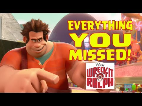 Thumbnail: Disney's Wreck it Ralph Easter Eggs and Everything You Missed.