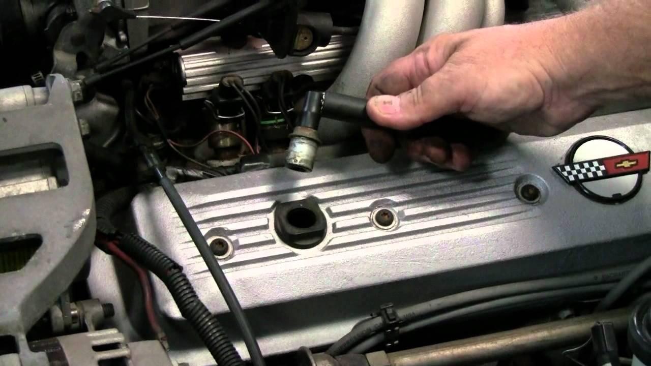 C4 Corvette Cutaway PCV  YouTube