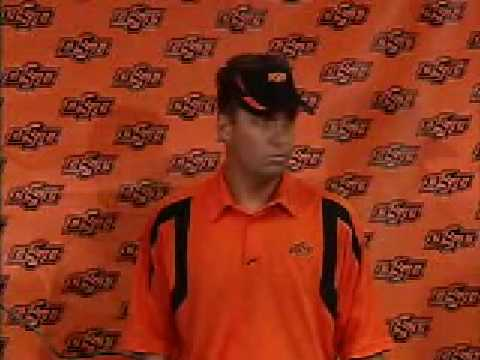 Oklahoma State Football Coach Mike Gundy