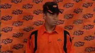 "Oklahoma State Football Coach Mike Gundy ""I"