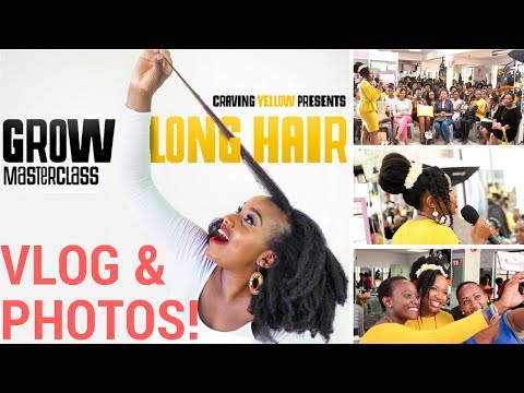 MY MASTERCLASS VLOG & PHOTO ALBUM!! (Nairobi Natural Hair Community Part 2)