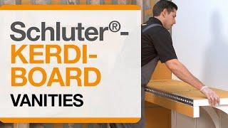 Schluter®-KERDI-BOARD: Vanities