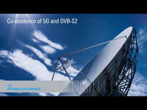 Co-existence Of 5G NR And DVB-S2