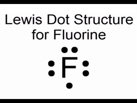 electron dot diagram for al kicker hideaway wiring aluminum fluoride diagrams lewis structure fluorine atom f youtube fo3