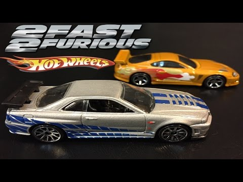 2 Fast 2 Furious Race - Hot Wheels Fast and Furious Cars