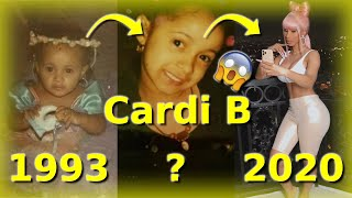 Cardi B Then and Now (1993 - 2020) |  From birth to Now *Rare Photos*