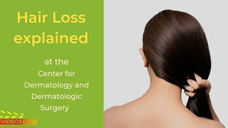 Now Trending - Hair Loss explained by Dr. Cheryl Burgess