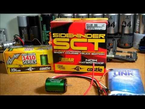 Castle Creations SIDEWINDER SCT 3800KV Brushless Combo