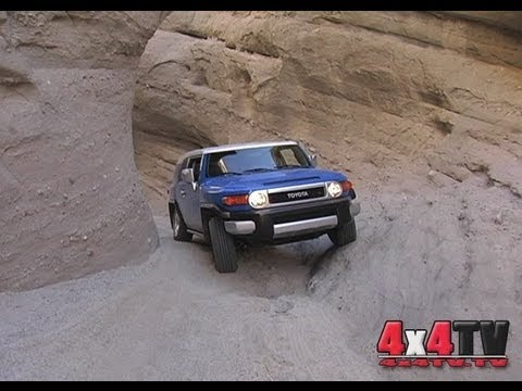 Sandstone Canyon Borrego Springs CA - 4x4TV Adventure Video