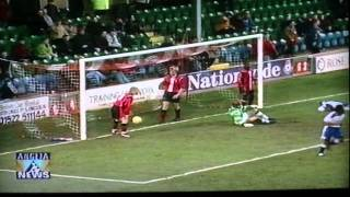 Lincoln City 2-2 Luton Town Lge Gray Doherty 21st Nov 1998