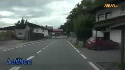 Austria - Germany / Fahrt von Innsbruck nach Garmisch - Partenkirchen