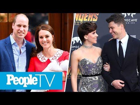 William & Kate's New Family Of 5, Scarlett Johansson & Colin Jost's Red Carpet Debut | PeopleTV