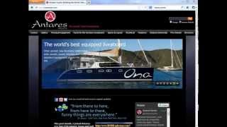 Antares Liveaboard Sailing Catamarans, Brief Overview